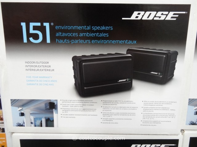 Bose 151 Indoor Outdoor Speakers Costco 3