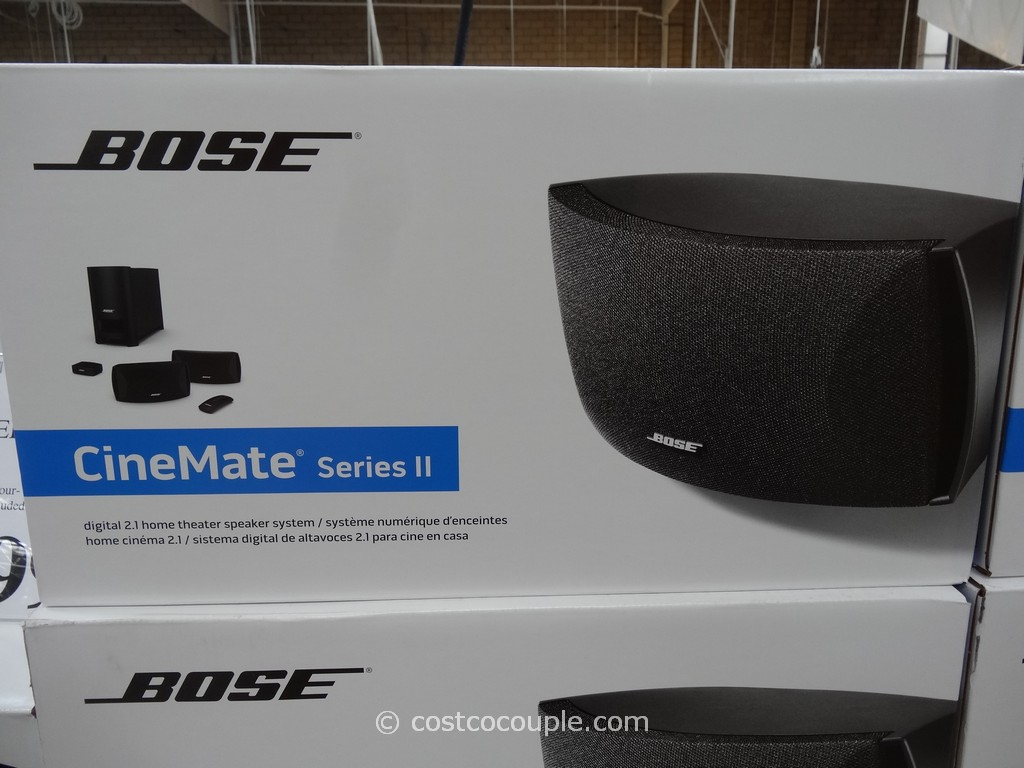 Bose Cinemate II Digital Home Theater Costco 2