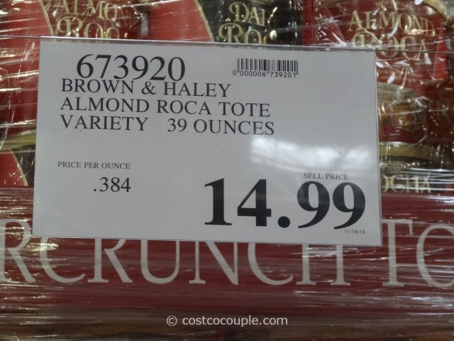 Brown and Haley Almond Roca Tote Variety Pack Costco 1