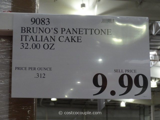 Brunos Panettone Costco 1