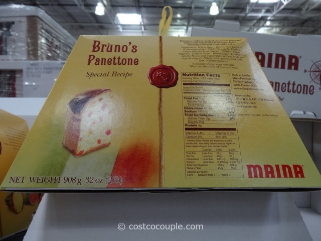 Brunos Panettone Costco 3