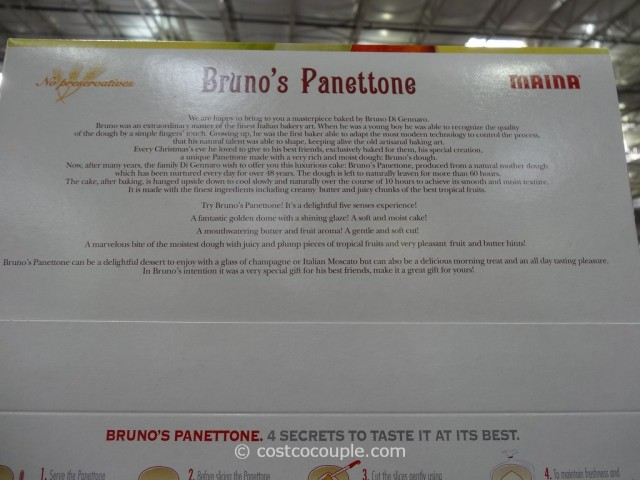 Brunos Panettone Costco 4