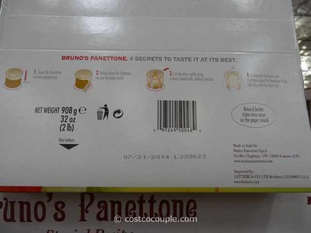 Brunos Panettone Costco 5