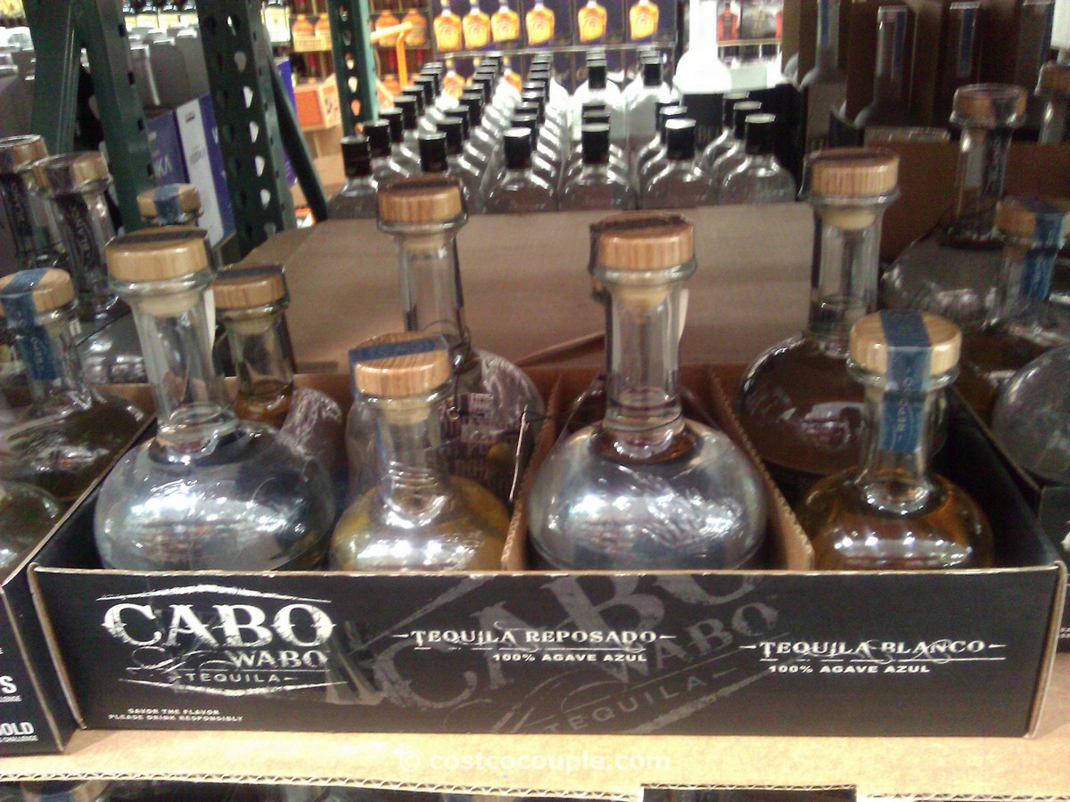Cabo Wabo Blanco and Reposado Tequila Costco 2