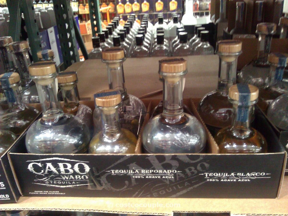 Cabo Wabo Blanco and Reposado Tequila Costco 2