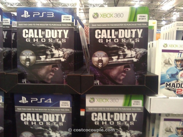 Call of Duty Ghosts Videogame Costco 2
