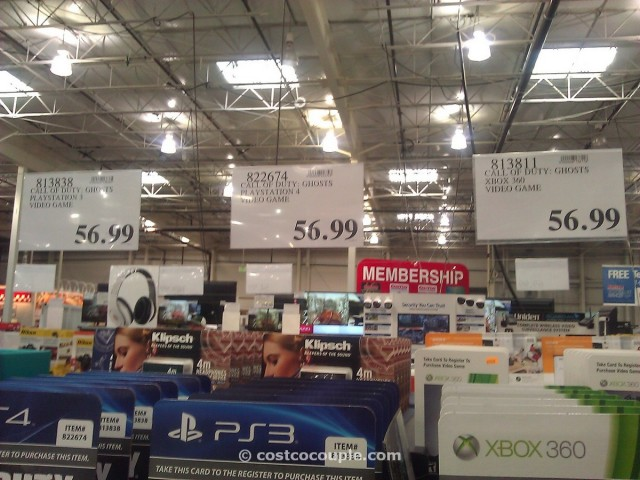 Call of Duty Ghosts Videogame Costco 3