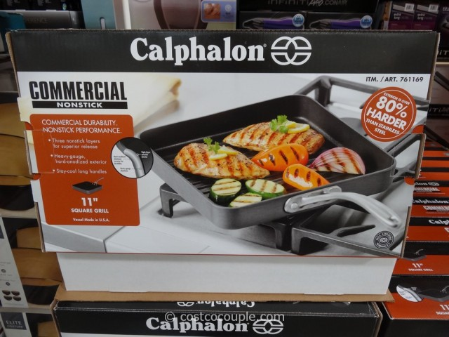 Calphalon Commercial Nonstick Square Grill Costco 3