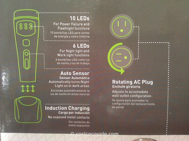 Capstone 4 Function LED Light Costco 4