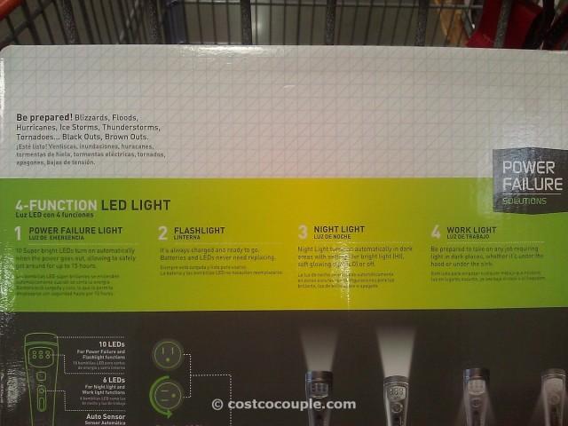 Capstone 4 Function LED Light Costco 6