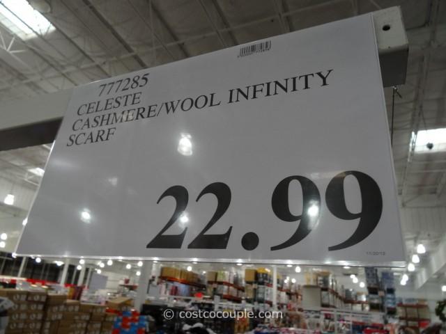 Celeste Cashmere Blend Infinity Scarf Costco 1