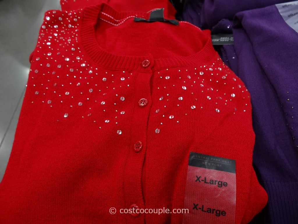 Central Park West Ladies Embellished Cardigan Costco 3
