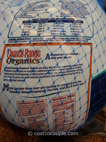 Coastal Range Organic Turkey Costco 3