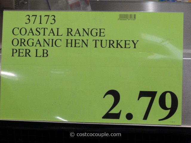 Coastal Range Organics Young Turkey Costco