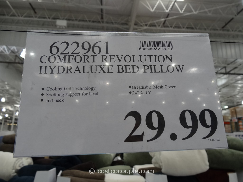 Comfort Revolution Hydraluxe Bed Pillow