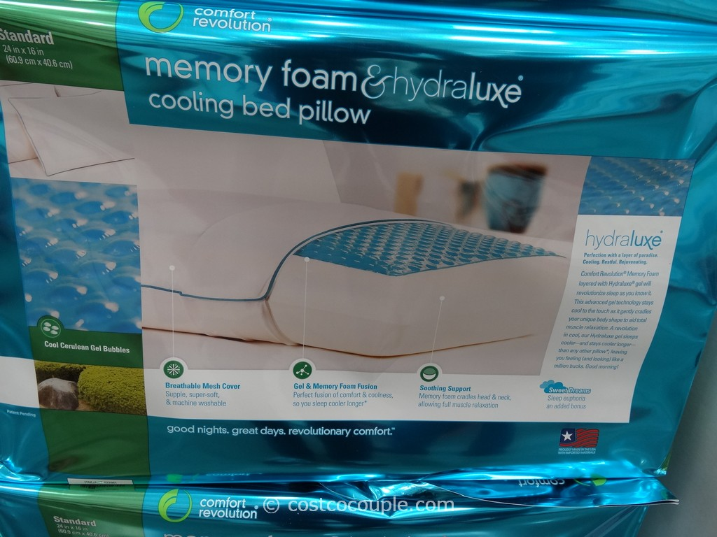 What pillow are you sleeping on page 2 corvetteforum for Comfort revolution 3 hydraluxe gel memory foam mattress toppers