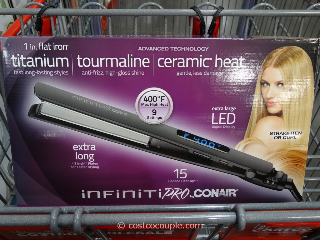 Conair Infiniti Pro 1-Inch Flat Iron Costco 2