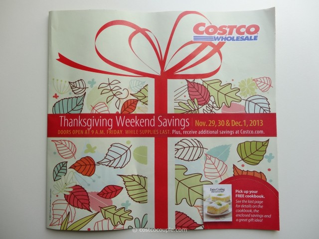 Costco 2013 Thanksgiving Weekend Savings 1