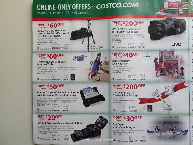 Costco 2013 Thanksgiving Weekend Savings 10