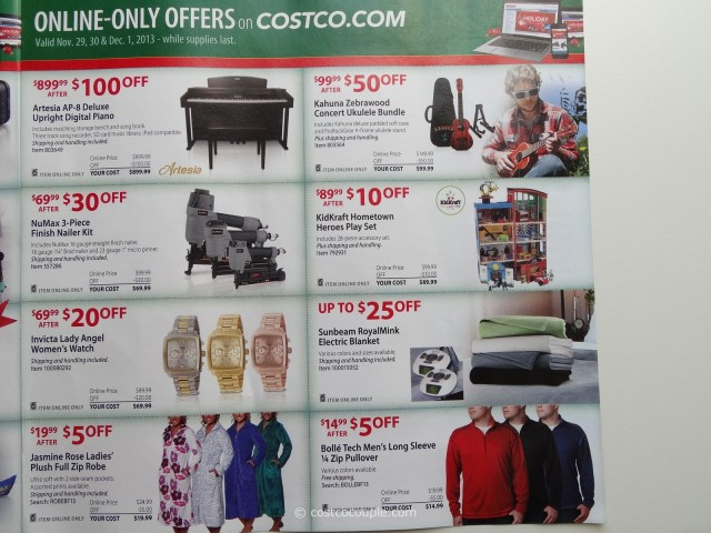 Costco 2013 Thanksgiving Weekend Savings 11