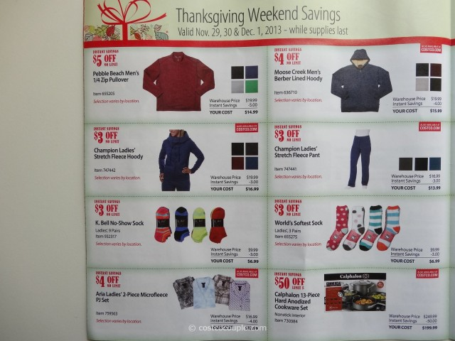 Costco 2013 Thanksgiving Weekend Savings 6