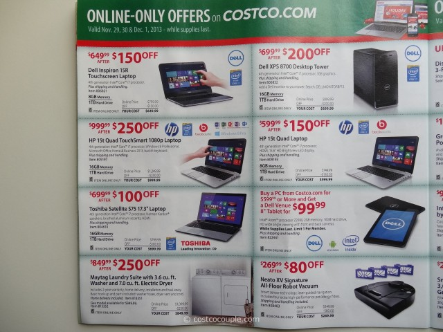 Costco 2013 Thanksgiving Weekend Savings 8
