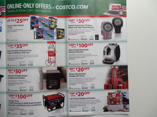 Costco 2013 Thanksgiving Weekend Savings 9