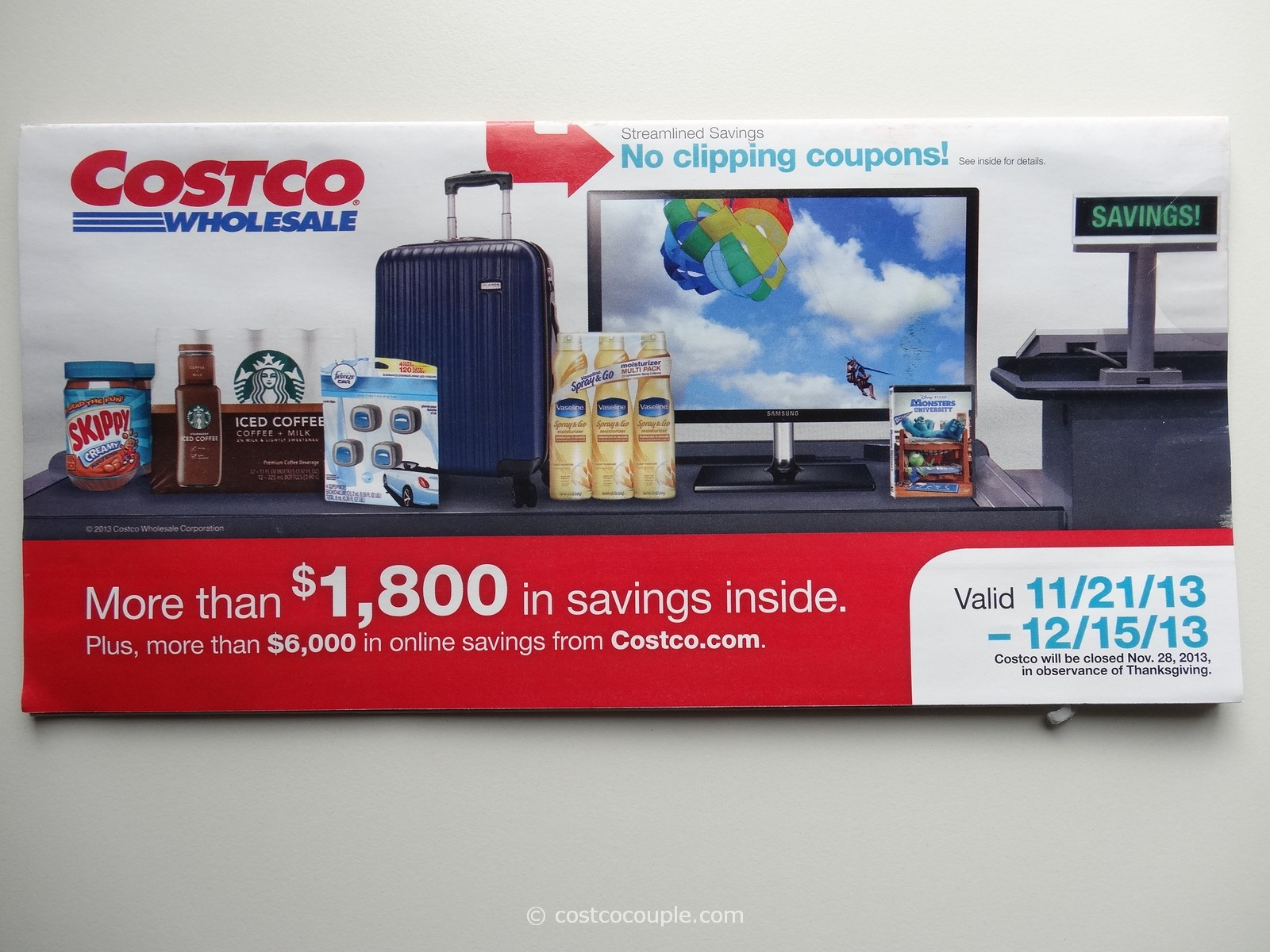 Costco December 2013 Coupon Book 1