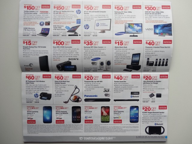Costco December 2013 Coupon Book 11 21 13 To 12 15 13