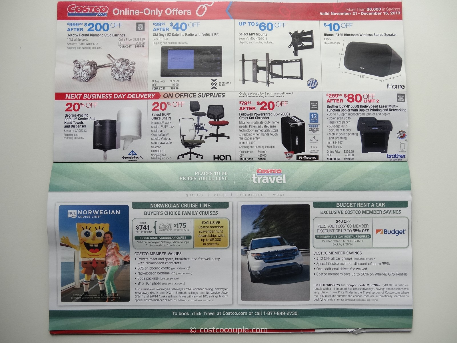 Find a great collection of December Warehouse Coupon Offers at Costco. Enjoy low warehouse prices on name-brand December Warehouse Coupon Offers products.