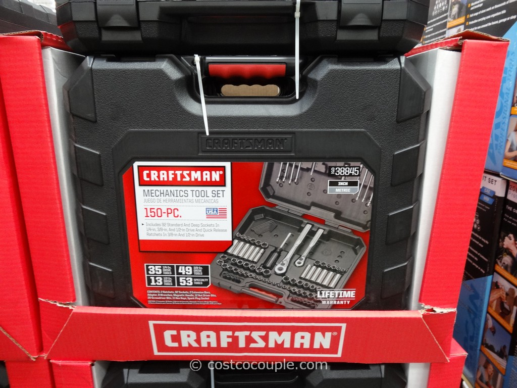 Craftsman 150-Piece Mechanics Tool Set Costco 2