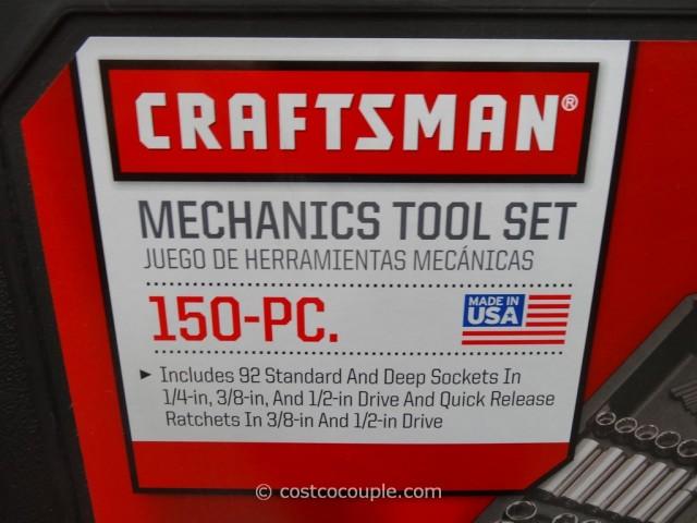 Craftsman 150-Piece Mechanics Tool Set Costco 3