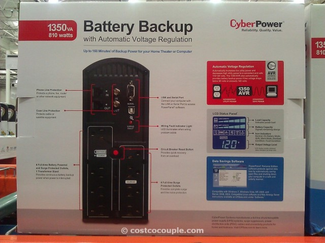 Cyberpower Battery Backup Costco 2