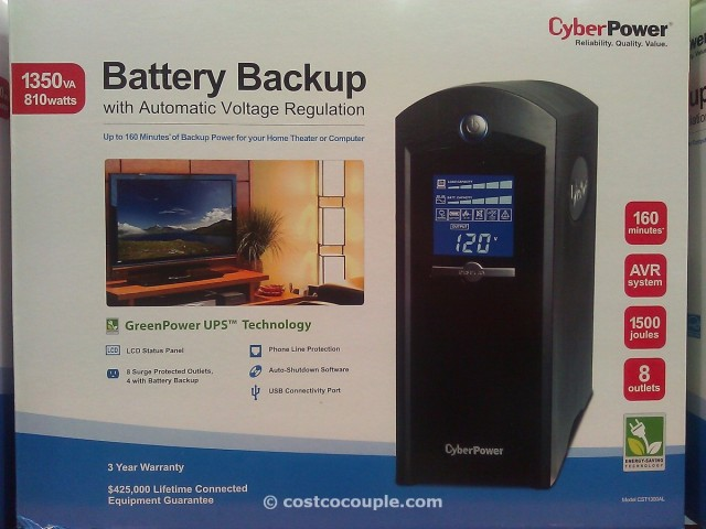 Cyberpower Battery Backup Costco 3