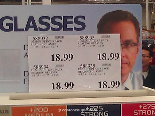 Design Optics 3 Pack Reading Glasses Costco 1