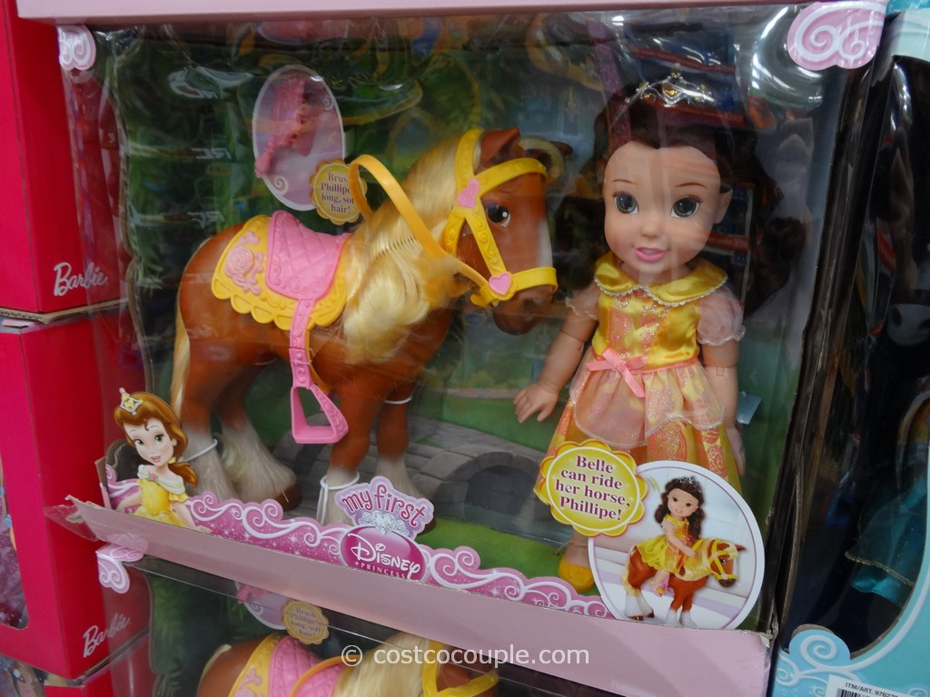 Disney Doll and Horse Set Costco 1