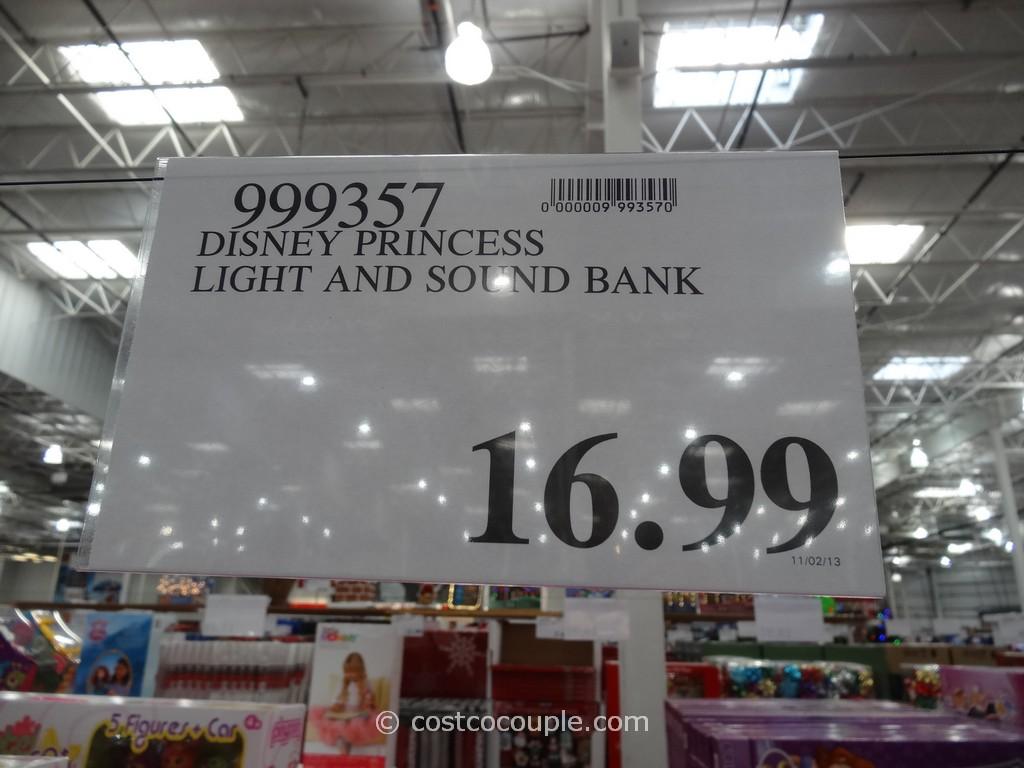 Disney Princess Light And Sound Musical Bank