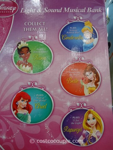 Disney Princess Light and Sound Musical Bank Costco 5