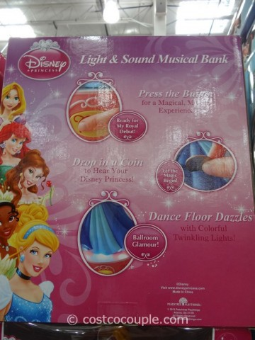 Disney Princess Light and Sound Musical Bank Costco 6