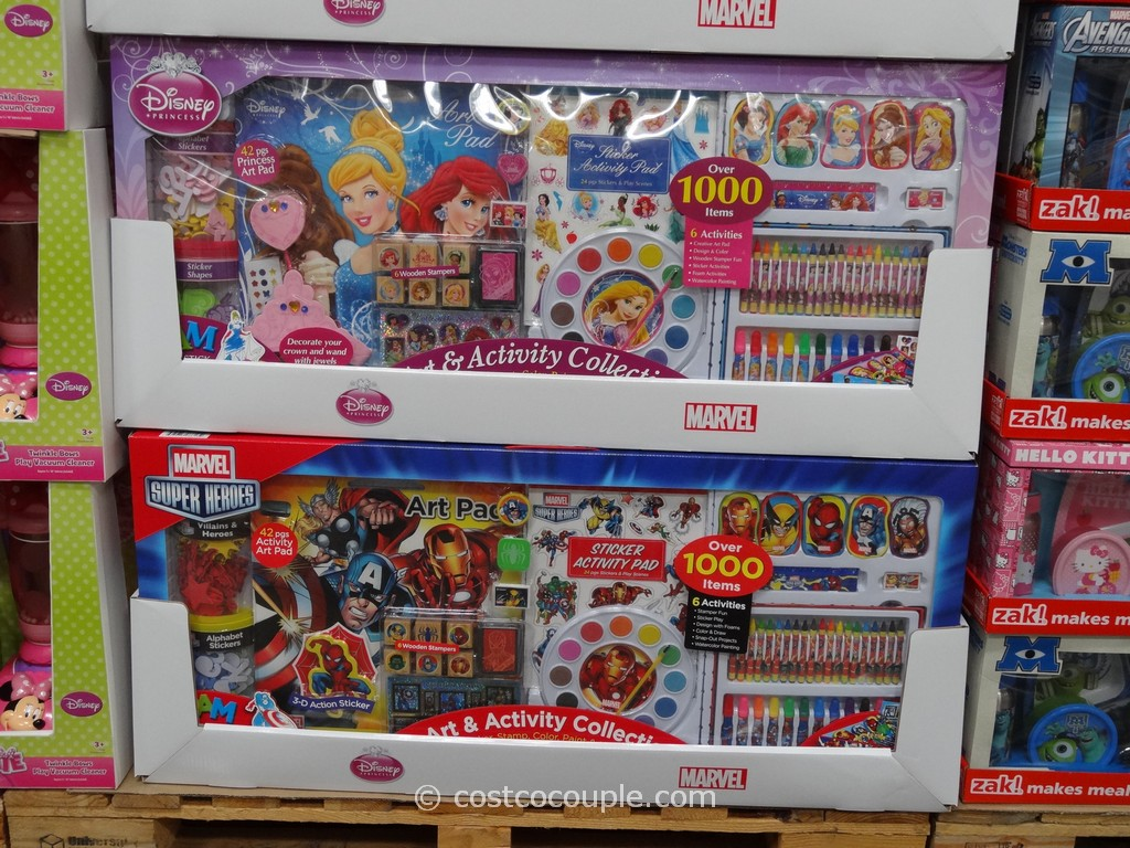 Disney Super Activity Set Costco 1