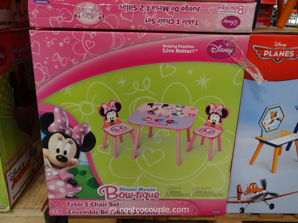 & Disney Table and Chairs Set