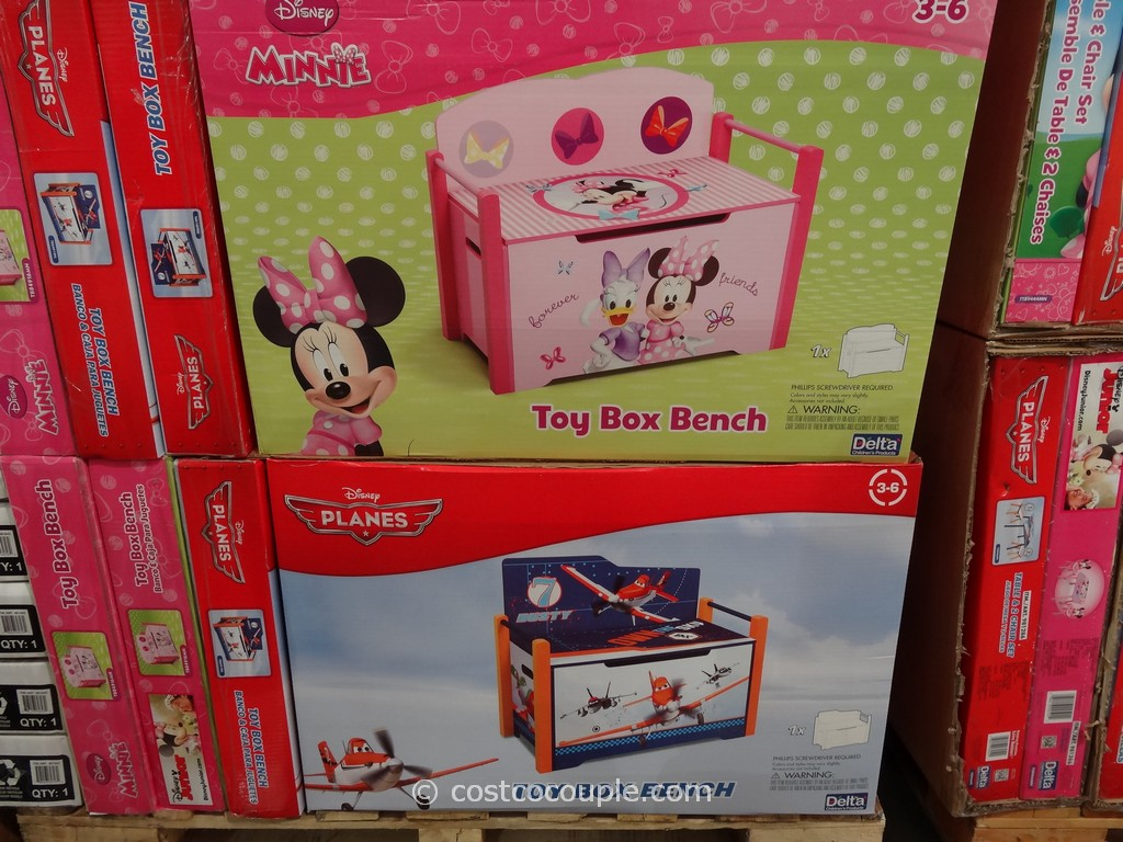 Disney Toy Box Bench Costco 1