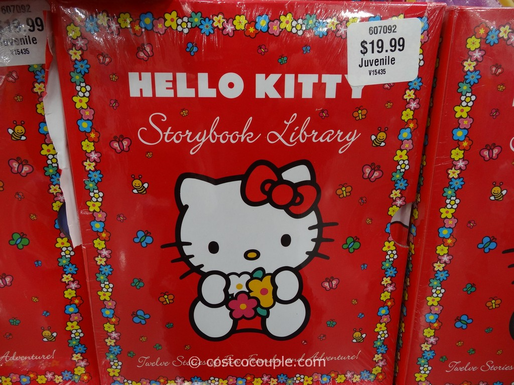 Disney and Hello Kitty Storybook Library Costco 1