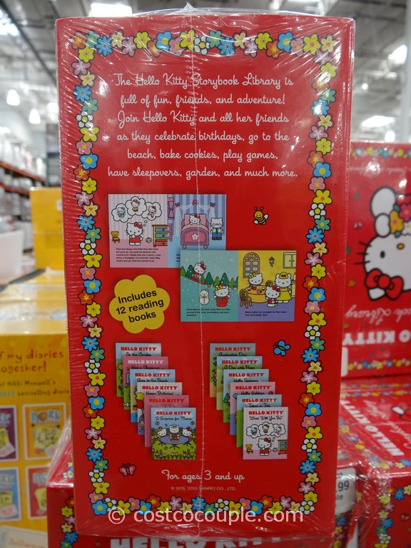 disney and hello kitty storybook library