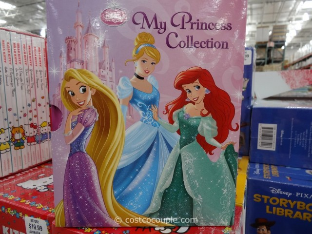 Disney and Hello Kitty Storybook Library Costco 4