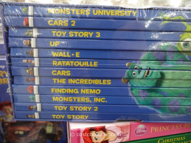 Disney and Hello Kitty Storybook Library Costco 7