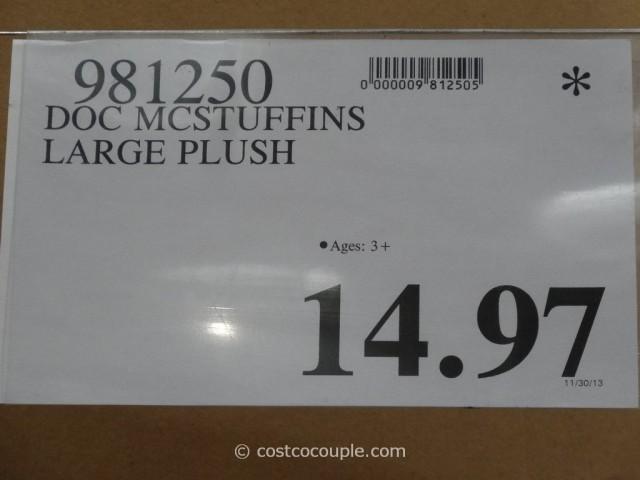 Doc McStuffins Large Plush Toys Costco