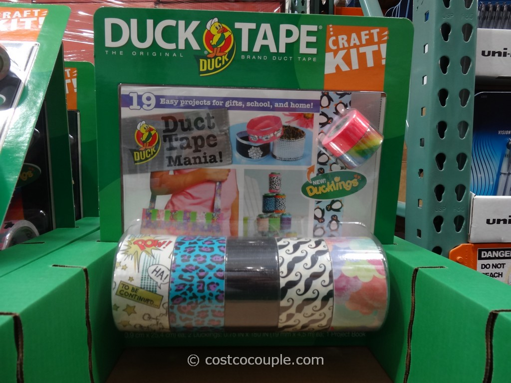 Duct tape crafts kits - Duck Brand Duck Tape Craft Kit Costco 2