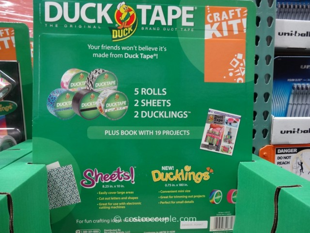 Duck Brand Duck Tape Craft Kit Costco 4