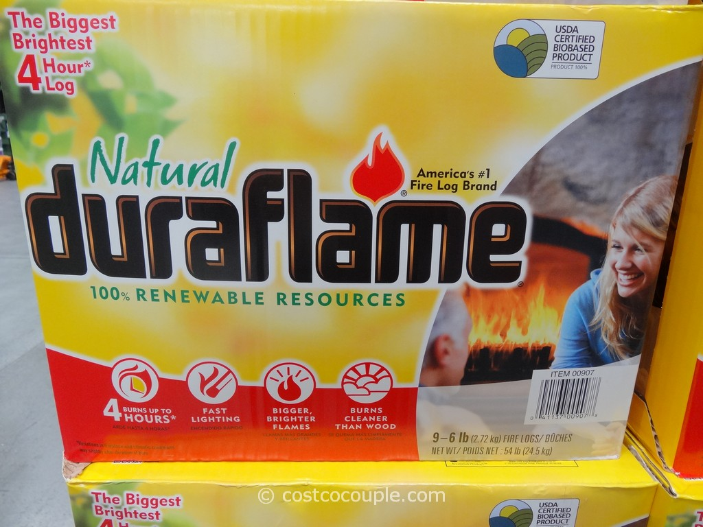 Duraflame Natural Firelogs Costco 4